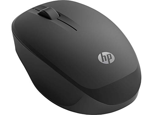HP Wireless Bluetooth Mouse 250 for PCs and Laptops, Adjustable DPI, Security Encryption, High-Resolution Optical Sensor, and Ergonomic Comfort, Black (6CR73AA)