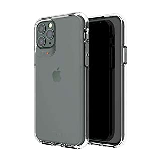 Gear4 Crystal Palace Compatible with iPhone 11 Pro Case, Advanced Impact Protection with Integrated D3O Technology, Anti-Yellowing, Phone Cover – Transparent, Crystal Clear (36577) (B07WGVX1NV) | Amazon price tracker / tracking, Amazon price history charts, Amazon price watches, Amazon price drop alerts