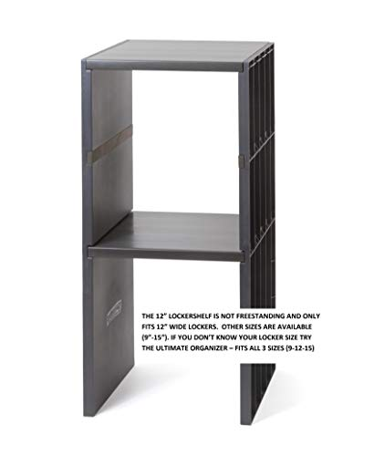 "Lockershelf Company-12"" Locker Shelf-The Ultimate Solution in Locker Shelving, Super Strong, 100 lbs. per Shelf."