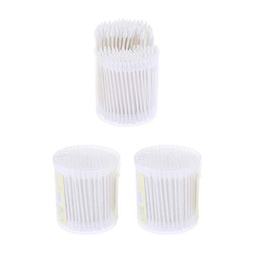 Tubayia Lot de 600 bâtonnets de nettoyage jetables pour maquillage