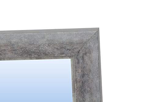 Espejo de Pared con Marco de Madera (Varios tamaños y Colores)   Serie 2799-037 (80 x 60 cm)