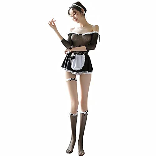 Sexy maid costume Bras for women Cosplay outfit Sexy outfits Panties sets for women Within Lovely (7500)