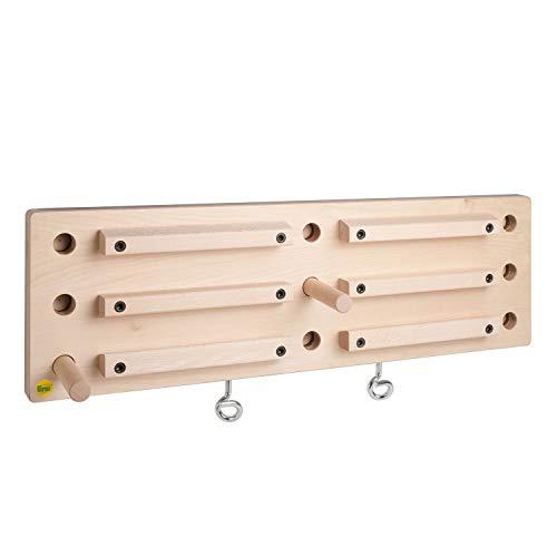 Erzi 47090 Campusboard ∣ Kletterboard ∣ Trainingsboard ∣ Fingerboard ∣ Griffboard