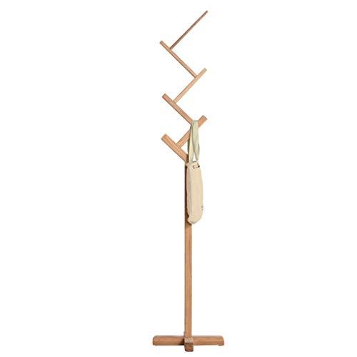 LIPENLI En forma de Z sólida Escudo de madera creativo del estante de roble blanco Hogar Ejecución vertical en rack 30x40x187cm