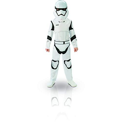 Star Wars - Disfraz de Stormtrooper, Episode 7, Classic, para niños (Rubie