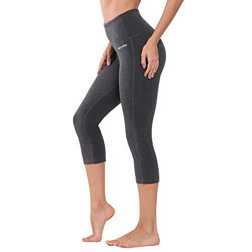 Ogeenier 3/4 Mallas Deportivas Mujer Pantalón Deportivo de Mujer Malla Deportivas Leggings para Yoga Fitness Gimnasio Running Estiramiento Pilates