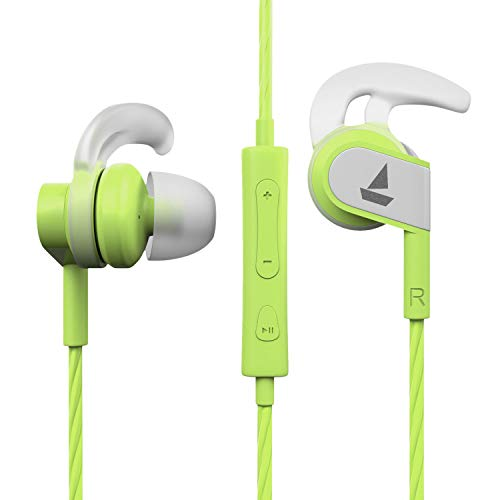boAt Bassheads 242 in Ear Wired Earphones with Mic(Spirit Lime)