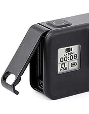 Lupholue Lekka zapasowa osłona ochronna do drzwi bocznych adapter złącza ładowania do GoPro Hero 8