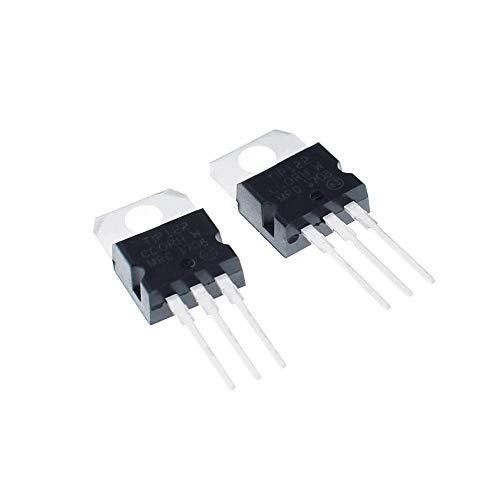 HuiQing Zhang 5 Stück Tip102 Tip120 Tip122 Tip127 Tip142 Tip147 Transistor-Tipp142t Tip147t für Heimwerker (Größe: TIP120).