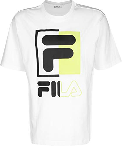 Fila - Camiseta 687475 Men Saku Tee White - 687475M67 - Blanc, Medium