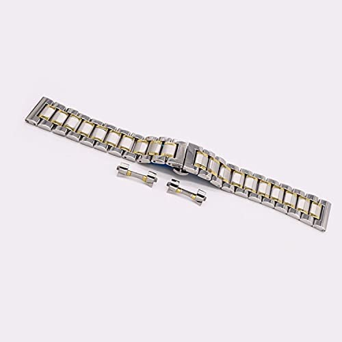 Now free shipping Tent Watch Band Stainless with Butterfly Strap Steel Tampa Mall
