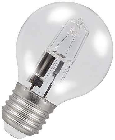 2 x Ampoules Sphérique Halogènes 28W = 37W Culot a Vis ES E27