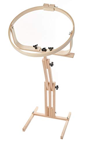 "Frank A. Edmunds Quilters Wonder! 18"" Hoop with Adjustable Stand, 2645"