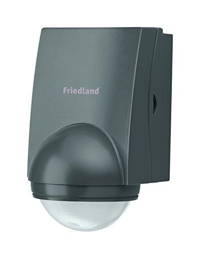 Friedland Spectra+ L310BLK Bewegungsmelder 140° inkl. Fernbedienung, schwarz