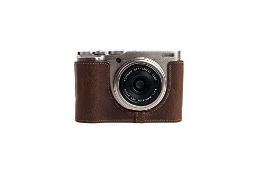 Zakao - Funda de Piel auténtica para cámara Fujifilm Fuji XF10 (Incluye Correa de Mano)