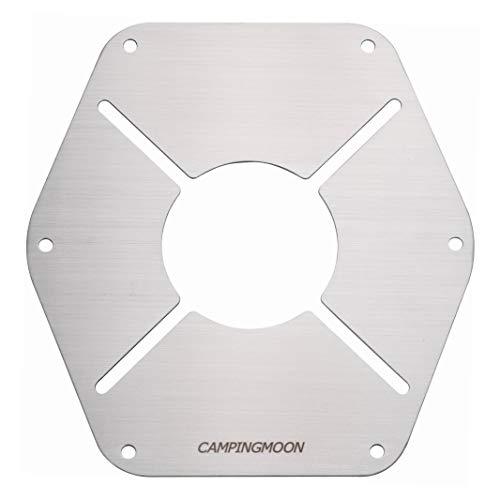 キャンピングムーン(CAMPING MOON) ステンレス製 遮熱板 ST-310 シングルバーナー用 ST-1617