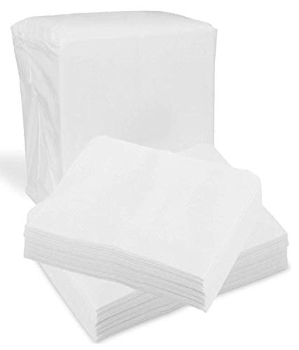 Disposable Dry Wipes, 100 Pack – Ultra Soft Non-Moistened Cleansing Cloths for Adults, Incontinence, Baby Care, Makeup Removal – 9.5