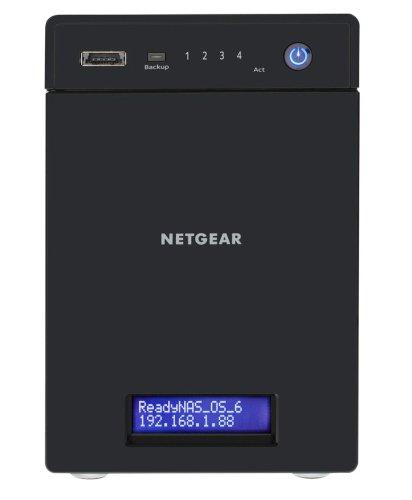 NETGEAR RN31441E-100EUS ReadyNAS 314 Enterprise NAS-System 4TB (8,9 cm (3,5 Zoll), Intel Atom D270x, 2,1GHz, 2GB RAM, 4-Bay, SATA II, HDMI, 2x USB 3.0)