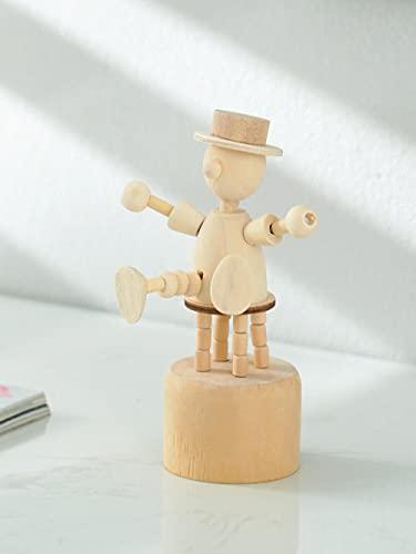 DXZQ Adornos de Escritorio Figuritas Decorativas Decoraciones de Madera de Escritorio, Juguetes para niños, Marionetas, Soldados, Decoraciones de gabinetes de TV