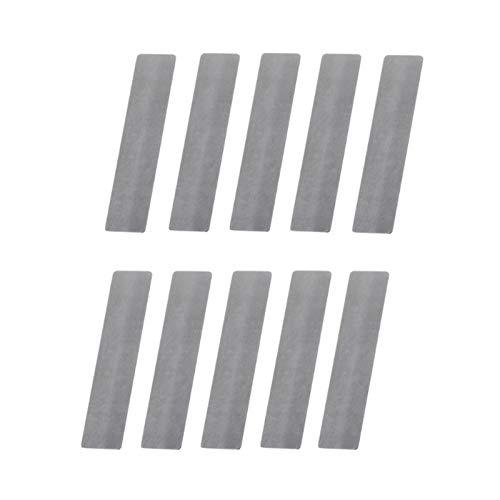 LJSF Pneumatische Teile 10 Teile/los Ventilplatte für Kompressor Ventil Voller Spacer Luftkompressor Ersatzteile Papier Robust und einfach zu bedienen (Color : 10X46mm)