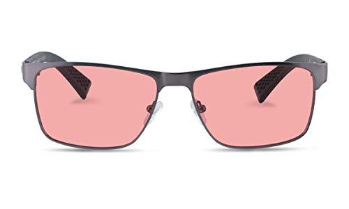 TheraSpecs Conrad Migraine Glasses for Light Sensitivity, Photophobia and Fluorescent Lights | Unisex | Indoor Lenses
