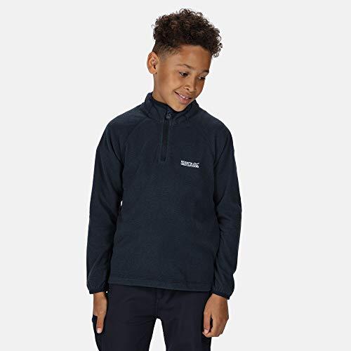 Regatta Polaire technique Junior Loco avec ouverture 1/2 Zip Fleece Enfant Navy/Navy FR: 2XL (Taille Fabricant: 11-12)