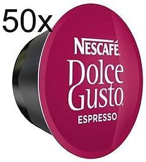 50 x Nescafe Dolce Gusto Espresso - Coffee Capsules - 50 Capsules