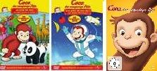Coco, der neugierige Affe - Spielfilm & 16 Folgen der TV-Serie im Set - Deutsche Originalware [3 DVDs]