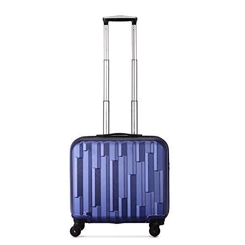 L@LILI Conjuntos de Equipaje Trolley Case Universal Wheel Suitcase Ultra Light Boarding Sección Transversal PC 22.3 Pulgadas Maletas,B