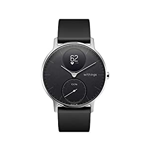 Withings Steel HR Hybrid Smartwatch – Activity, Sleep, Fitness and Heart Rate Tracker with Connected GPS