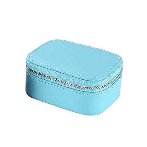 KSFBHC Caja de joyería Pendientes de Piel sintética Collar Pulsera Almacenamiento Portátil Joyería de Viaje (Color : 3)