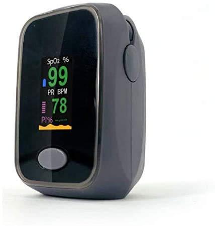 NAULAKHA Pulse Oximeter OLED DISPLAY ( Black)