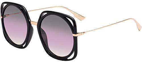 Dior DIOR DIRECTION BLACK/VIOLET SHADED 56/22/145 women Sunglasses
