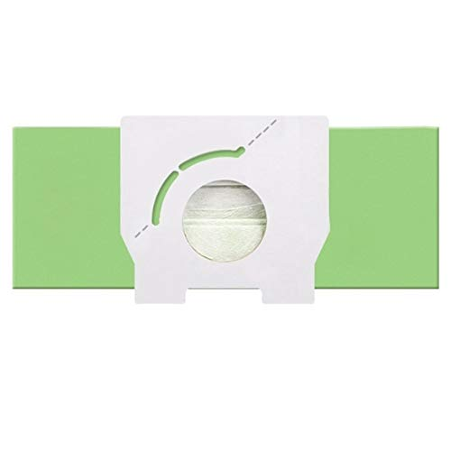 ZRNG 15 PCS Vacío Bolsa de Polvo Ajuste for Panasonic MC-CA291 MC-CA293 MC-CA391 MC-CA393 MC-CA591 MC-CA593 MC-3300 MC-3310 La instalación es Simple y fácil de Usar. (Color : Green)