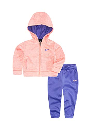 Nike Girls' 2-Piece Sweatsuit - Violet, 2t