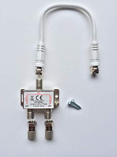 Freitag-Electronic -  2-Fach SAT Verteiler