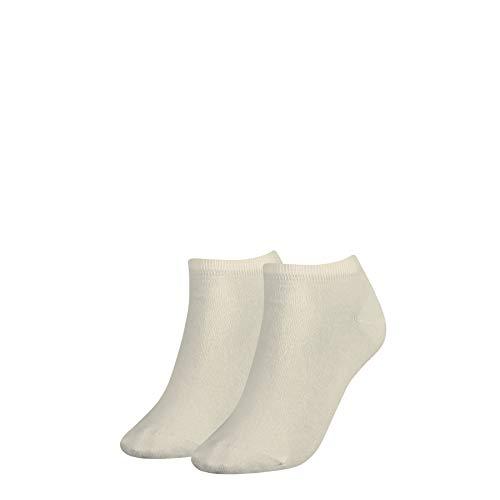 Tommy Hilfiger Damen Sneaker - calcetines para mujer, 2 Pack, Blanco...