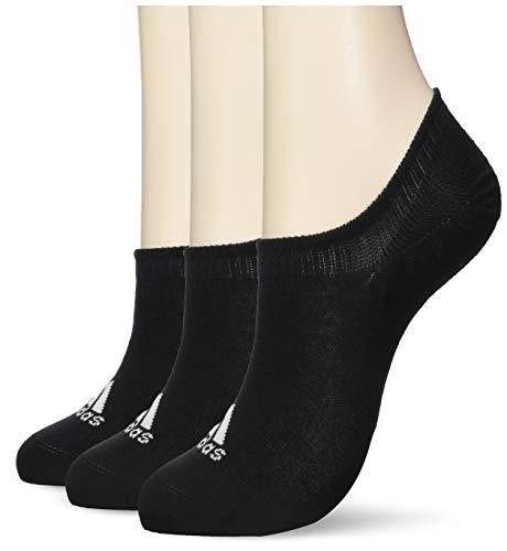 adidas Erwachsene Performance Invizible 3 Pair Socken, Black, EU 43-46 (L)