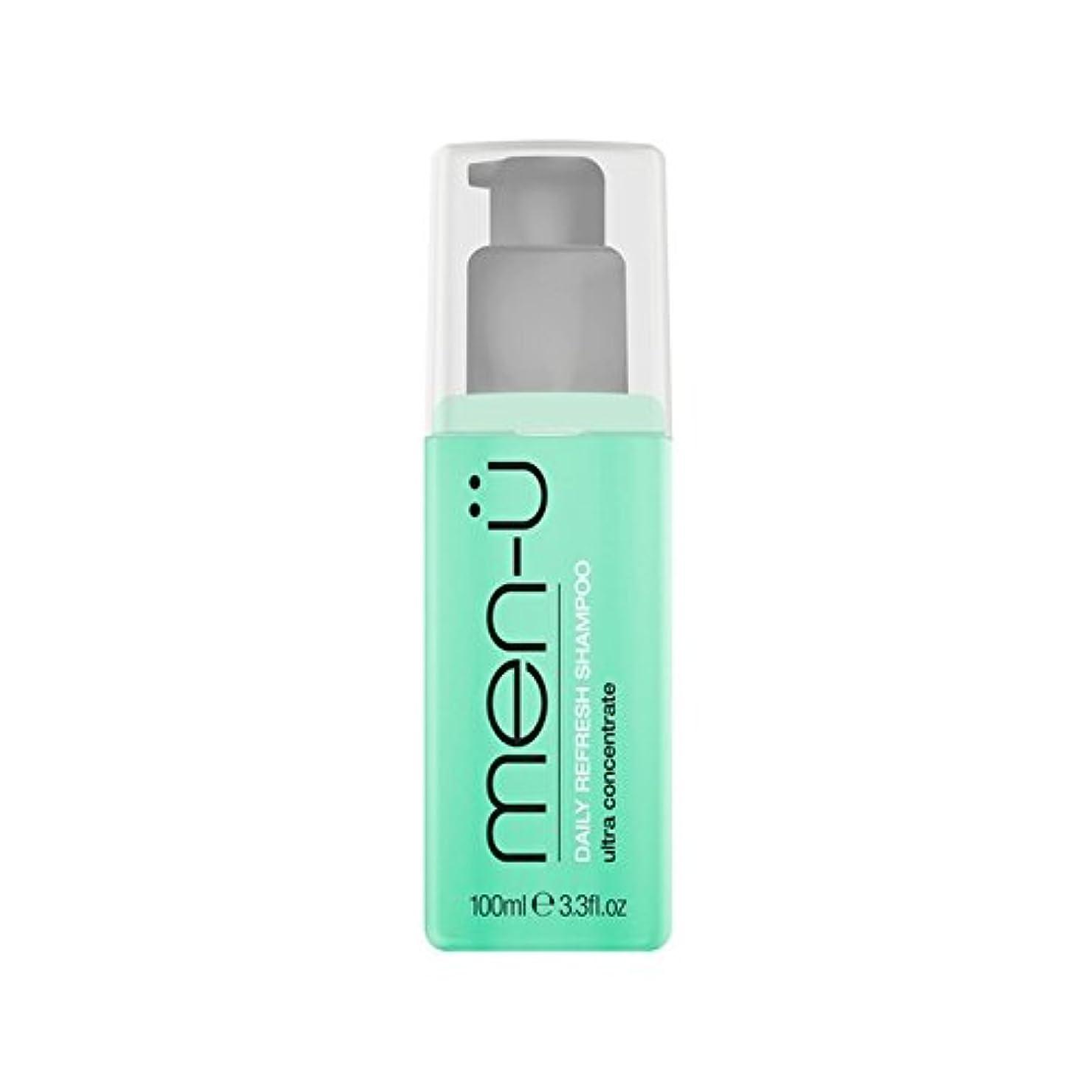 バイオリニスト仮定、想定。推測階下男性-?毎日リフレッシュシャンプー(100ミリリットル) x4 - Men-? Daily Refresh Shampoo (100ml) (Pack of 4) [並行輸入品]