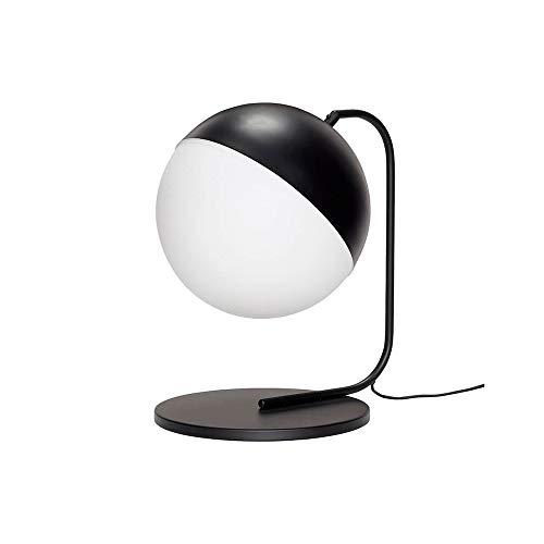 HÜBSCH - Lampe à poser design noir et blanc design rétro Hübsch