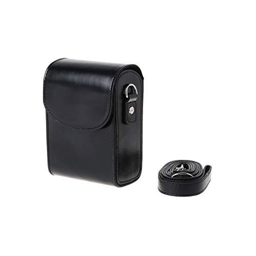 Qiulip - Funda de Piel sintética para cámara Canon G9X SX700 SX170 S90 S110 S120 G7X G7Xii Sony HX60/HX50/HX30 para Nikon L620 L610 P340 P330 P310