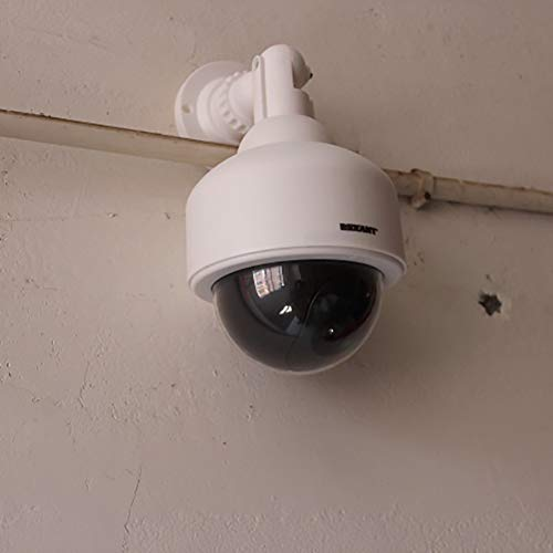 Best Price WANGOFUN Dummy Security Camera, Fake Bullet CCTV Surveillance System with Realistic Look ...