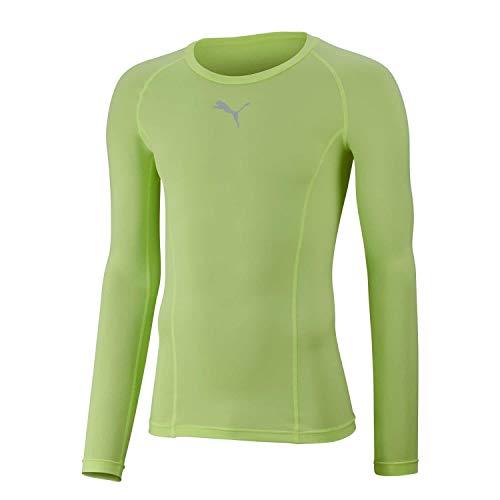 PUMA Herren Liga Baselayer Tee LS T-Shirt Longsleeve, Fizzy Yellow, XL