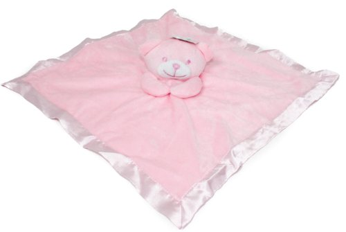 Soft Touch Baby Girl/Boy Luxury Teddy Comforter - Pink