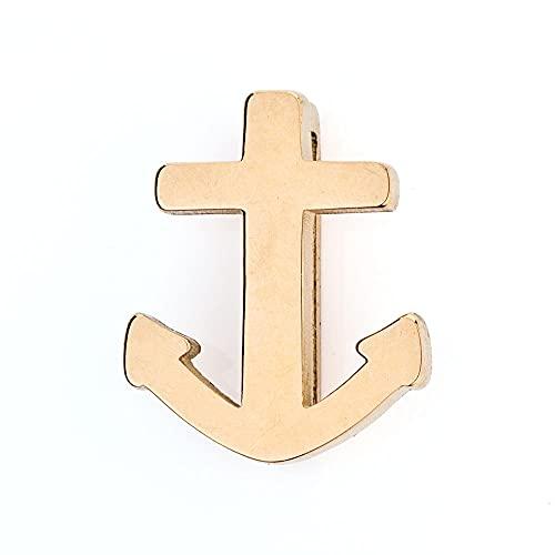Kistanio - Colgante de ancla para pulsera de malla | Anchor Charm | Charmband Charms,
