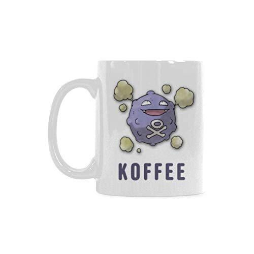 Top Koffing Koffee Coffee Mug or Tea Cup,Ceramic Material Mugs,White - 11oz