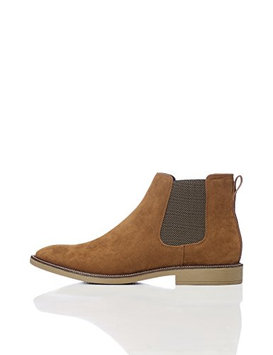 Marque Amazon - find. Bottines Chelsea en Cuir Homme -...