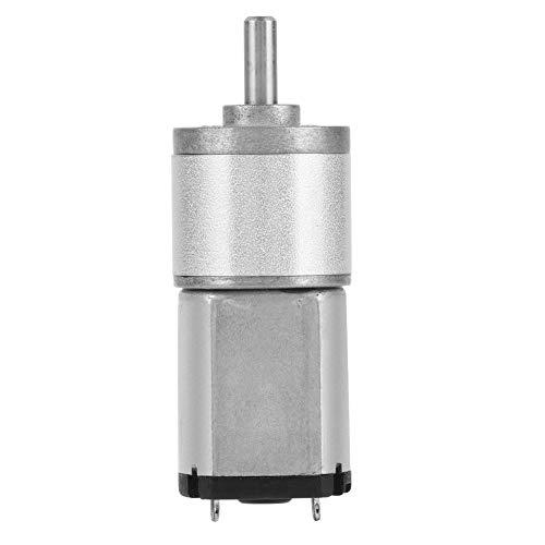 Motor de engranajes de alta precisión de CC, motor de engranajes reductor de velocidad, caja de engranajes reductores en miniatura, múltiples modelos para cerradura electrónica(12V 150RPM)