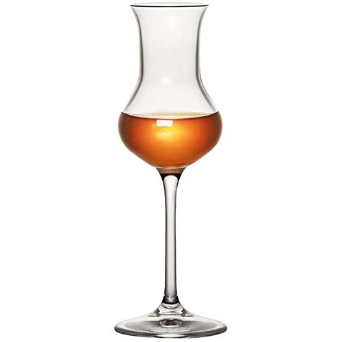 BWM - Copa de whisky de cristal de Chivas para licor, Copa de tulipanes, 80 ml