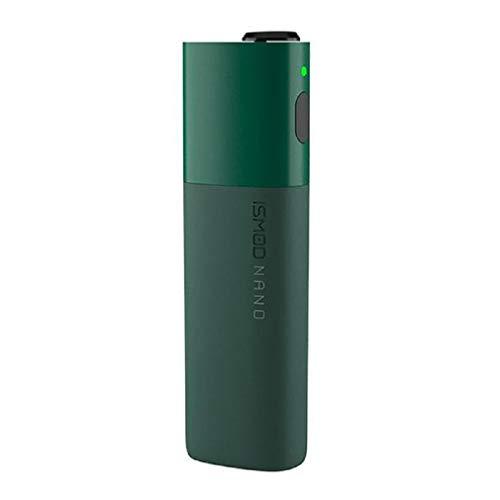 ISMOD Nano Kit - Sigaretta elettronica a riscaldamento SENZA NICOTINA compatibile con HEETS IQOS, batteria da 1500mAh, 3.7V (20 stick con una carica) (Verde)